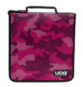 UDG CD Wallet 128 Digital Camo Pink